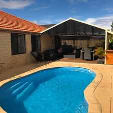 Rental info for FAMILY HOME WITH AN ABUNDANCE OF VERSATILE LIVING SPACE! in the Quinns Rocks area