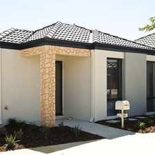 Rental info for MODERN EASY CARE HOME in the Perth area