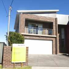 Rental info for ARCHITECTURALLY DESIGNED 5 BEDROOM DUPLEX in the Sydney area