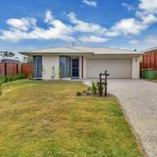 Rental info for SPACIOUS FAMILY HOME - 3 X LIVING AREAS in the Pimpama area