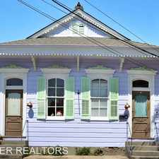 Rental info for 4223-4225 Burgundy in the Bywater area