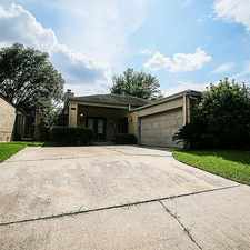 Rental info for 17211 Ash Butte Drive in the Houston area
