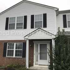 Rental info for Three Bedroom Town Home located in the Oak Tree Townhomes Community in the Christiansburg area