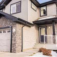 Rental info for FORMER SHOWHOME! - 3bed/2.5baths - Single Garage and fenced backyard - in the Leger area