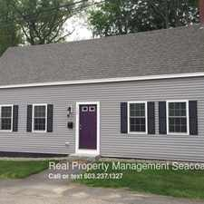 Rental info for 120 Kane St. in the Portsmouth area