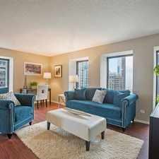 Rental info for N Lake Shore Dr & E Erie St in the Chicago area