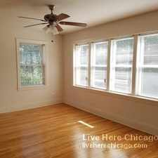 Rental info for N Ashland Ave & W Juneway Terrace in the Rogers Park area