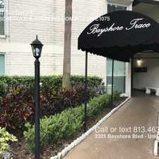 Rental info for 3325 Bayshore Blvd in the Palma Ceia area