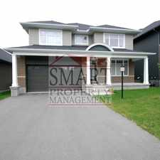 Rental info for 121 Grand Manan Circle in the West Carleton-march area