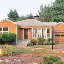 Rental info for 7507 SW 25th Ave in the Multnomah area