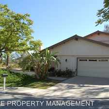 Rental info for 3995 CALLE DEL SOL in the Simi Valley area