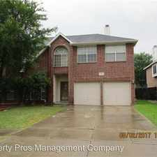 Rental info for 4717 Woodhaven Lane in the Haltom City area