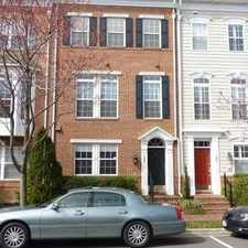 Rental info for 123 Cameron Station Blvd in the Alexandria area