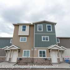 Rental info for 759 E 500 S #D in the American Fork area