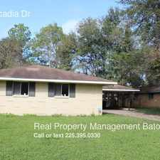 Rental info for 1035 Arcadia Dr in the Baton Rouge area