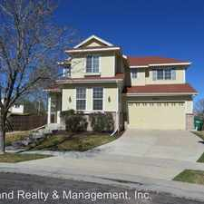Rental info for 10679 Atchison St in the Commerce City area
