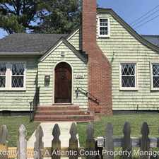 Rental info for 824 31st Street in the Norfolk area