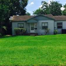 Rental info for 4818 Eppes Street in the Houston area