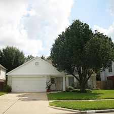 Rental info for 10146 Red Wolf Lane in the Houston area