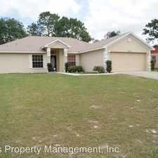 Rental info for 13515 Banner Road in the Spring Hill area