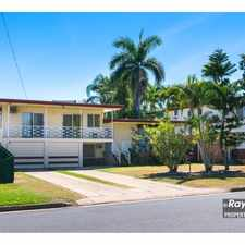 Rental info for 3 Levels of Living + a POOL in the Rockhampton area