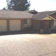 Rental info for SPACIOUS 4 BEDROOM HOME! in the Sydney area