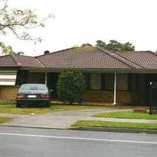 Rental info for Renovated 4 Bedroom Home in the Campbelltown area