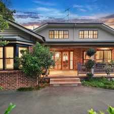 Rental info for Stunning executive home! in the Hornsby area