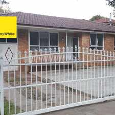 Rental info for Great for a small family in the Canley Vale area