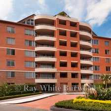 Rental info for SPACIOUS AND MODERN TWO BEDROOM PLUS STUDY APARTMENT...... in the Sydney area