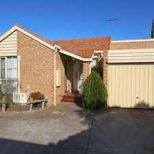 Rental info for Perfect Pascoe Vale!