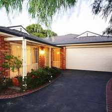 Rental info for Quiet and Peaceful in the Melbourne area