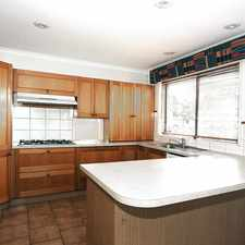 Rental info for NEAT 4 BEDROOM FAMILY HOME IN A CONVENIENT LOCATION! in the Glen Waverley area