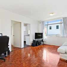 Rental info for Light filled 1 bedroom apartment - Open for Inspection 12pm -12.15 Saturday 16 September in the Glebe area