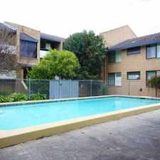 Rental info for Walk to Central Box Hill in the Melbourne area