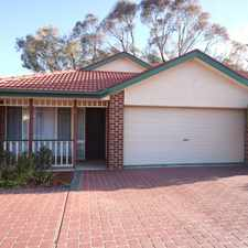 Rental info for Two bedroom single level townhouse with double garage! in the Queanbeyan area