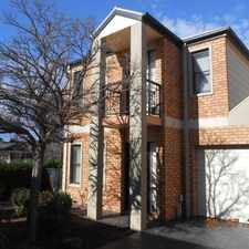 Rental info for Lovely Townhouse! in the Caroline Springs area