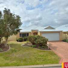 Rental info for Beautiful Home in Mariners Cove in the Coodanup area