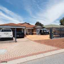 Rental info for SECURE 4X2 FAMILY HOME! in the Perth area