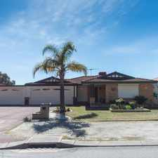 Rental info for A PLACE TO CALL HOME - WINDSOR HILLS in the Perth area