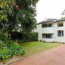 Rental info for ART DECO CHARMER in the Nedlands area