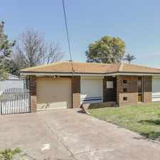 Rental info for HOME OPEN SATURDAY 16/09/2017 BETWEEN 10.00AM - 10.10AM