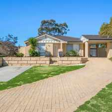 Rental info for PETS WELCOME in the Perth area