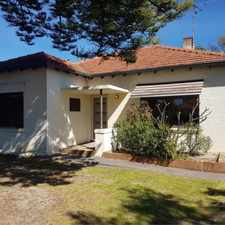 Rental info for CHARMING IN GREAT LOCATION! in the Mount Hawthorn area