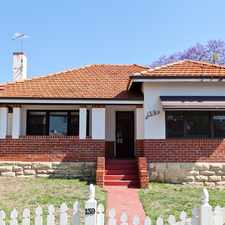 Rental info for Shenton Park Character Cottage