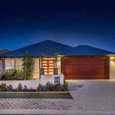 Rental info for GORGEOUS EXECUTIVE FAMILY HOME in the Burns Beach area
