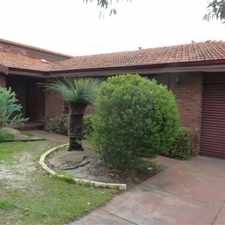 Rental info for Ideal for the Growing Family - Large Four Bedroom Two Bathroom Home in Willetton in the Willetton area