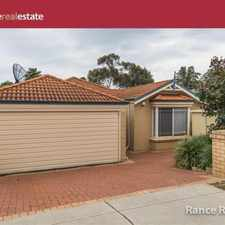 Rental info for GREAT LOCATION! in the Perth area