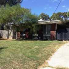 Rental info for A REAL MUST SEE! in the Hillarys area