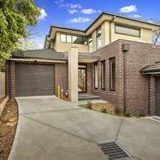 Rental info for Executive excellence with style & space in the Box Hill area